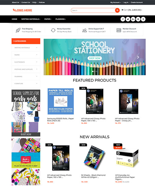 Stationary & Office Supplies